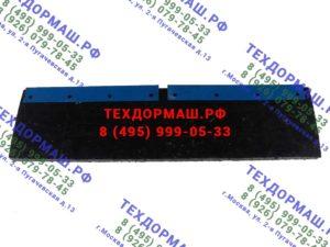 Техпластина 1000х250х40 мм армированная металлическим тросом