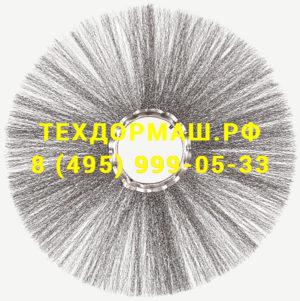 Диск щеточный с металлическим ворсом 120х550 мм